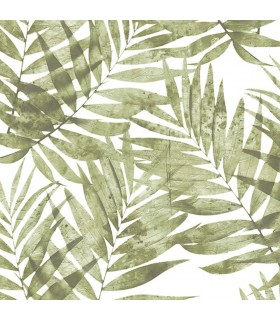 G67944 - Organic Textures Wallpaper by Patton-Palm Leaves