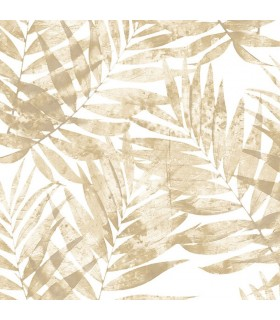 G67946 - Organic Textures Wallpaper by Patton-Palm Leaves