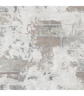 G67989 - Organic Textures Wallpaper by Patton-Exposed Brick