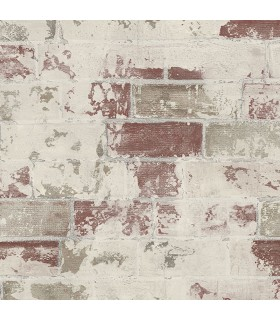 G67988 - Organic Textures Wallpaper by Patton-Exposed Brick