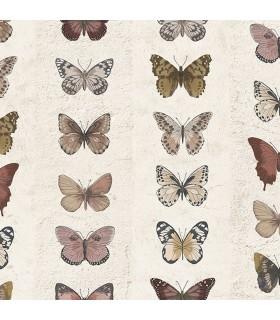 G67992 - Organic Textures Wallpaper by Patton-Butterflies