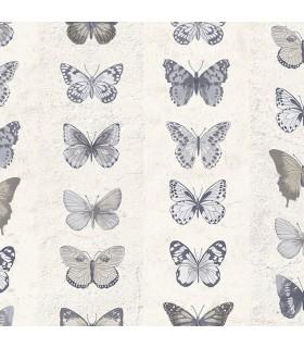 G67993 - Organic Textures Wallpaper by Patton-Butterflies