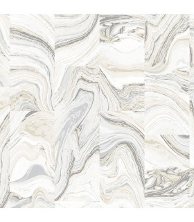 G67976 - Organic Textures Wallpaper by Patton-Stone Marble