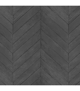 G67996 - Organic Textures Wallpaper by Patton-Herringbone Wood Slats