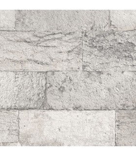 G67969 - Organic Textures Wallpaper by Patton-Faux Stone Brick