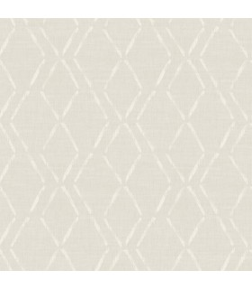 3118-12651 - Birch and Sparrow Wallpaper by Chesapeake-Tapa Trellis