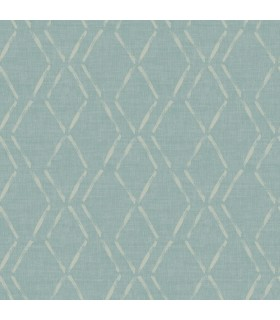 3118-12652 - Birch and Sparrow Wallpaper by Chesapeake-Tapa Trellis