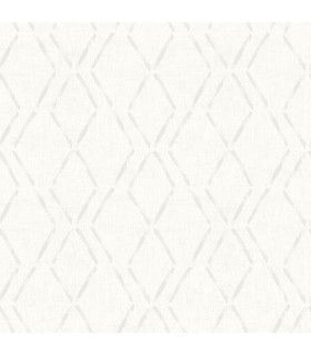 3118-12653 - Birch and Sparrow Wallpaper by Chesapeake-Tapa Trellis