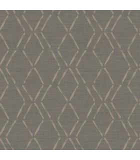 3118-12654 - Birch and Sparrow Wallpaper by Chesapeake-Tapa Trellis