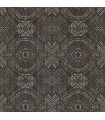 3118-12663 - Birch and Sparrow Wallpaper by Chesapeake-Java Medallion