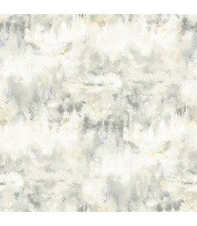 3118-12613 - Birch and Sparrow Wallpaper by Chesapeake-Tamarack Forest
