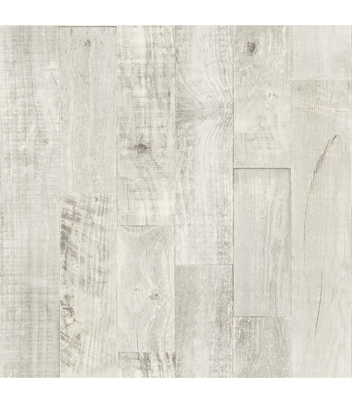 3118-12694 - Birch and Sparrow Wallpaper by Chesapeake-Chebacco Wooden Planks
