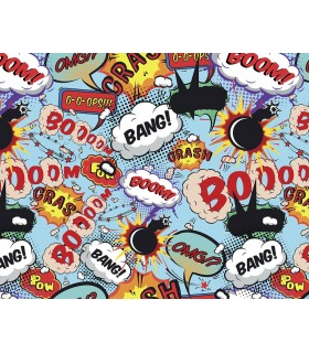 WALS0002 - Ohpopsi Wallpaper Mural-Comic Pop