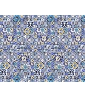 WALS0288 - Ohpopsi Wallpaper Mural-Mosiac Tiles
