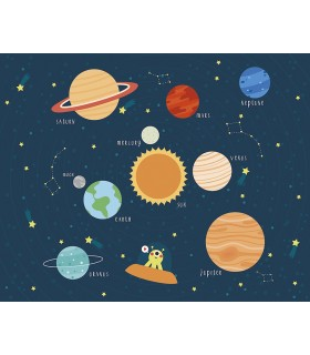 WALS0341 - Ohpopsi Wallpaper Mural-Outer Space