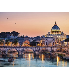 WALS0312 - Ohpopsi Wallpaper Mural-St. Peter's Basilica Rome