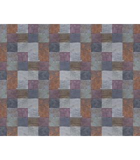 WALS0339 - Ohpopsi Wallpaper Mural-Stone Tiles
