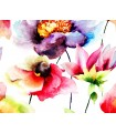 WALS0025 - Ohpopsi Wallpaper Mural-Watercolour Flora