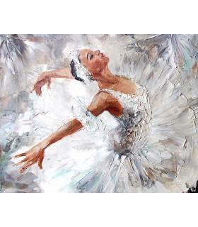 WALS0230 - Ohpopsi Wallpaper Mural-Ballerina