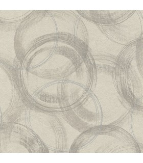2836-467765 - Advantage Shades of Grey Wallpaper-Yorick Distressed Circles