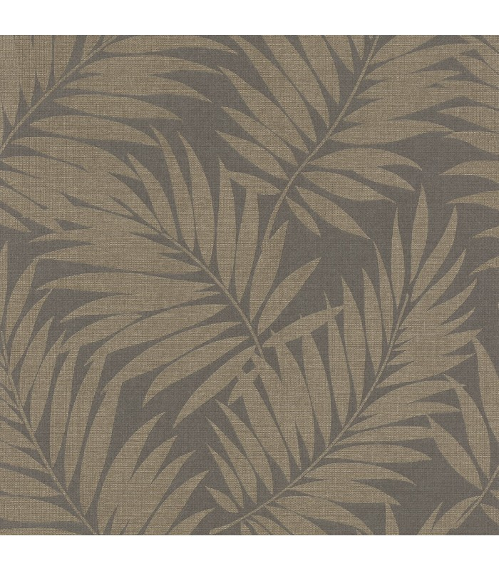 2836-527575 - Advantage Shades of Grey Wallpaper-Regan Palm Fronds