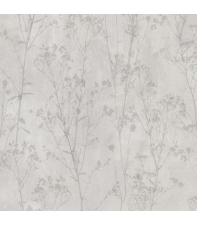 2836-802023 - Advantage Shades of Grey Wallpaper-Cordelia Floral