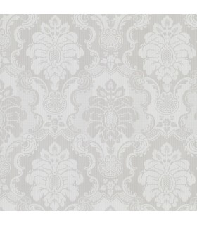 2836-802443 - Advantage Shades of Grey Wallpaper-Juliet Damask