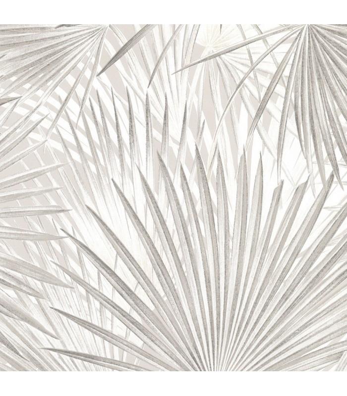 2836-803303 - Advantage Shades of Grey Wallpaper-Macduff Palm Fronds