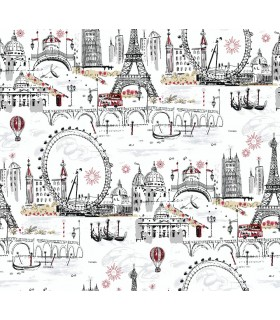 BL0436 - A Perfect World Wallpaper-Novelty Euro Scenic