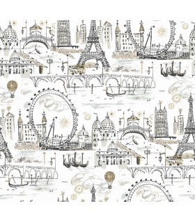 KI0584 - A Perfect World Wallpaper-Novelty Euro Scenic