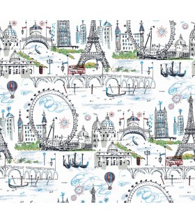 KI0585 - A Perfect World Wallpaper-Novelty Euro Scenic