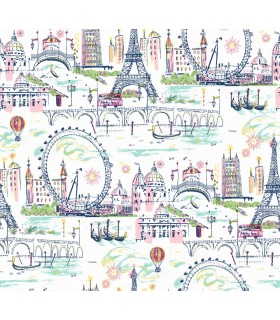 KI0586 - A Perfect World Wallpaper-Novelty Euro Scenic