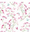 KI0513 - A Perfect World Wallpaper-Watercolor Branch