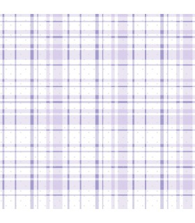KI0530 - A Perfect World Wallpaper-Polka Dot Plaid