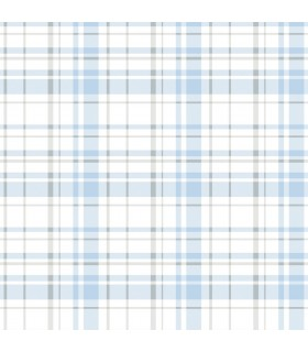 KI0532 - A Perfect World Wallpaper-Polka Dot Plaid