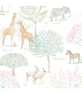 KI0540 - A Perfect World Wallpaper-On The Savanna