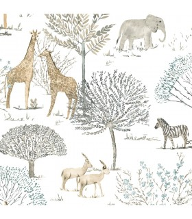 KI0541 - A Perfect World Wallpaper-On The Savanna