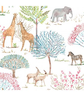 KI0542 - A Perfect World Wallpaper-On The Savanna