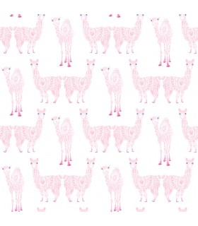KI0556 - A Perfect World Wallpaper-Alpaca Pack