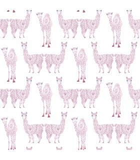 KI0557 - A Perfect World Wallpaper-Alpaca Pack