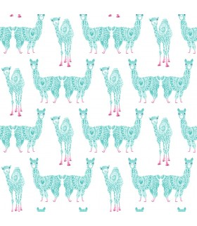 KI0558- A Perfect World Wallpaper-Alpaca Pack
