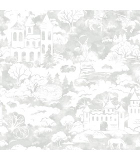 KI0560 - A Perfect World Wallpaper-Quiet Kingdom