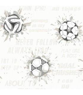 KI0578 - A Perfect World Wallpaper-Soccer Ball Blast