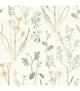 NR1565 - Norlander Wallpaper by York - Alpine Botanical