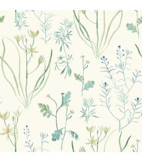 NR1566 - Norlander Wallpaper by York - Alpine Botanical