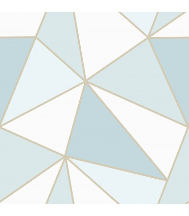 2814-24978 - Bath by Advantage Wallpaper-Apex Geometric