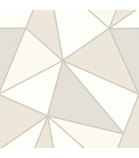 2814-24981 - Bath by Advantage Wallpaper-Apex Geometric