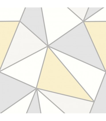 2814-24979 - Bath by Advantage Wallpaper-Apex Geometric
