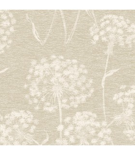 2814-24577 - Bath by Advantage Wallpaper-Garvey Dandelion Floral