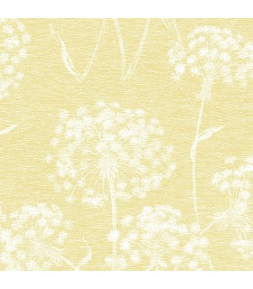 2814-24574 - Bath by Advantage Wallpaper-Garvey Dandelion Floral